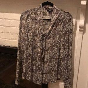 Paige silk blouse